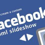 Crea minipelículas con Facebook Slideshow